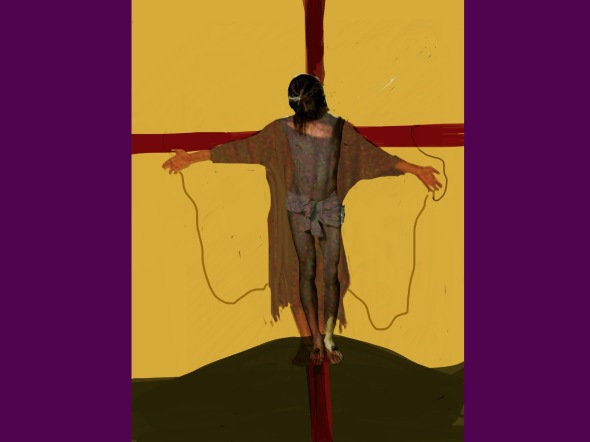 12. Jesus dies on the cross