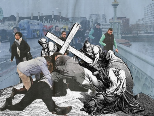7. Jesus falls the second time