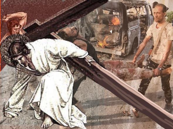 9. Jesus falls the third time